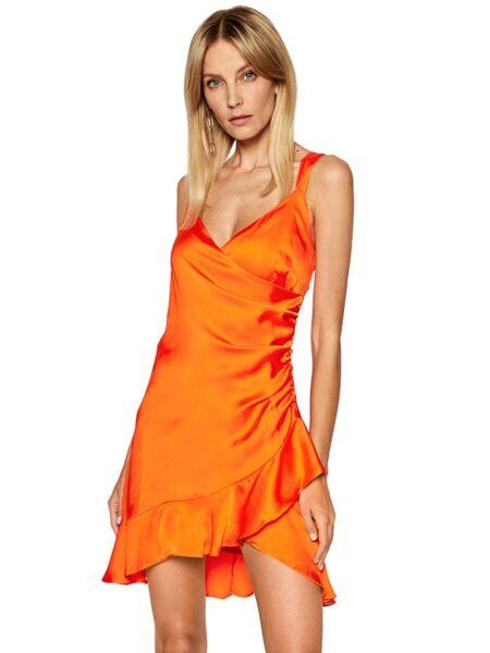 Narandžasta mini haljina - Guess