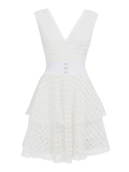 Rupičasta mini haljina - Guess