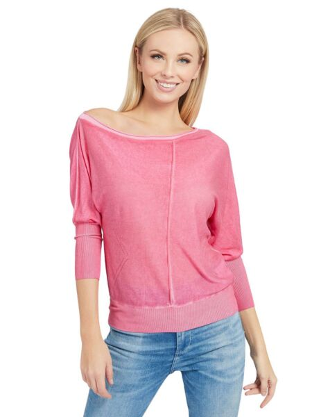 Ženski džemper na jedno rame - Guess