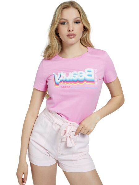 Pink ženska majica - Guess