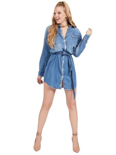 Teksas košulja-haljina – Guess