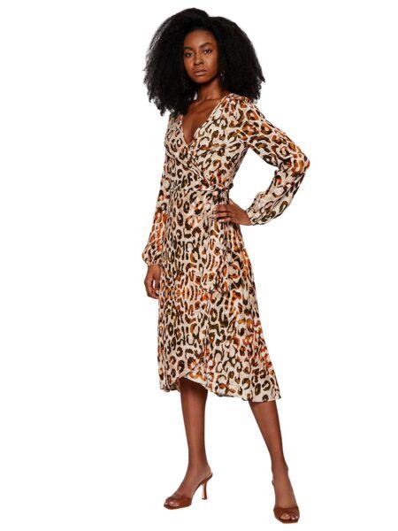 Midi leopard haljina - Guess