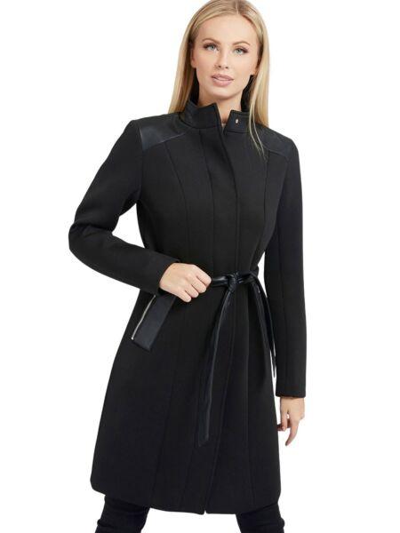 Crni ženski kaput - Guess