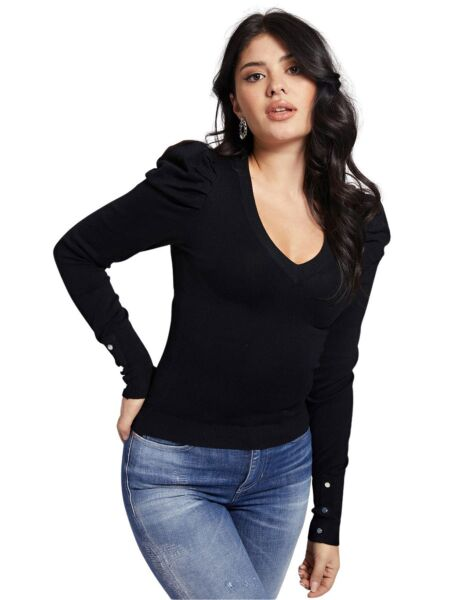 Crni ženski džemper - Guess