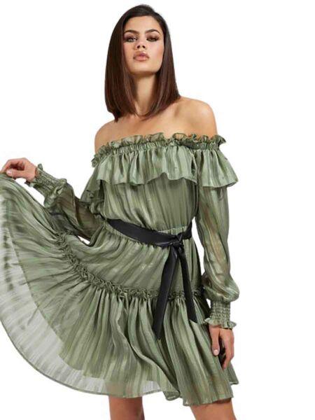 Guess - Mini haljina sa karnerima