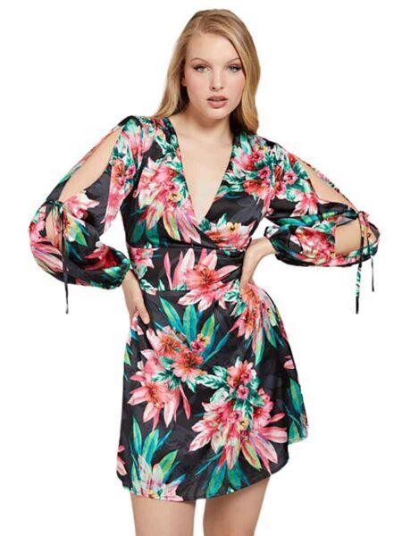 Guess - Cvetna mini haljina