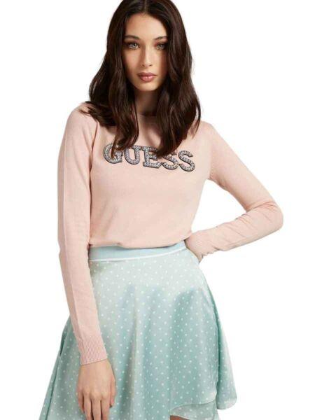 Guess - Ženski logo džemper