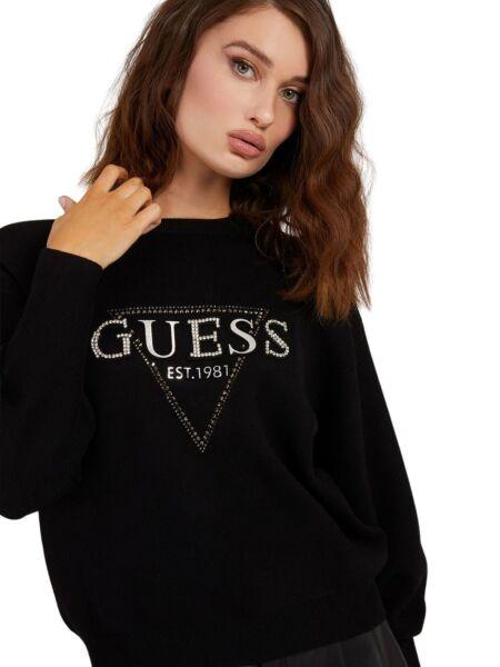 Guess - Ženski džemper sa cirkonima