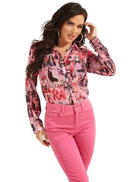 Ženska košulja sa grafikom - Guess