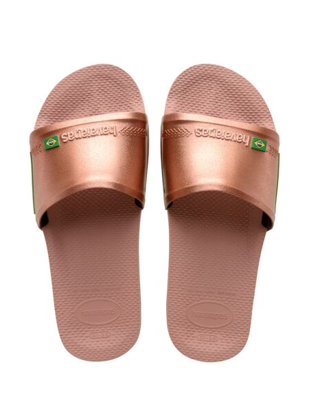 Bronzane ženske papuče - Havaianas