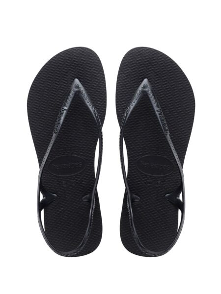 Crne ženske sandale - Havaianas