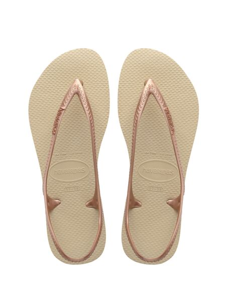 Bež  ženske sandale - Havaianas