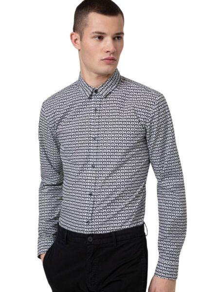 Muška logo print košulja - HUGO