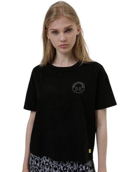 Crna ženska majica - HUGO