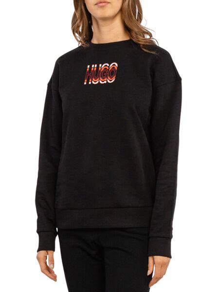 HUGO - Crni ženski duks