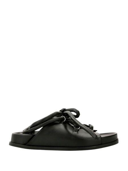 HUGO - Kožne ženske sandale