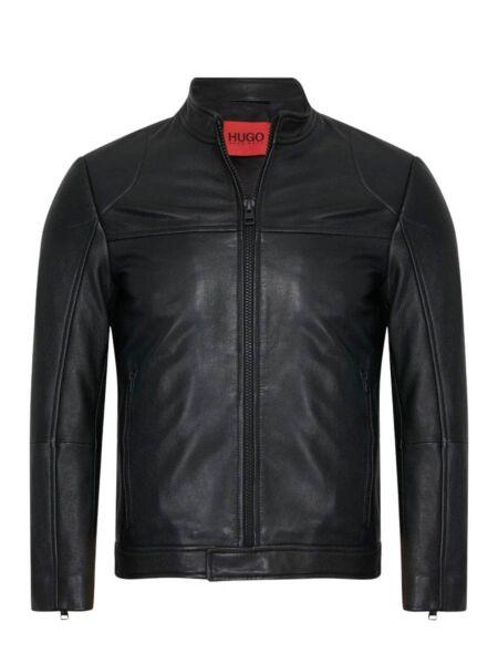 HUGO - Kožna muška jakna