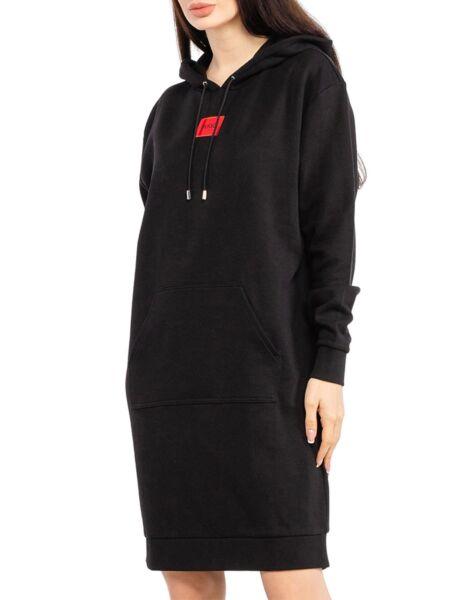 HUGO - Duks-haljina s kapuljačom