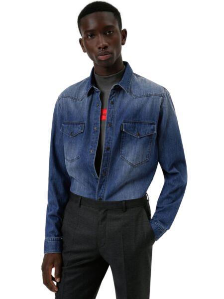 HUGO - Muška teksas košulja
