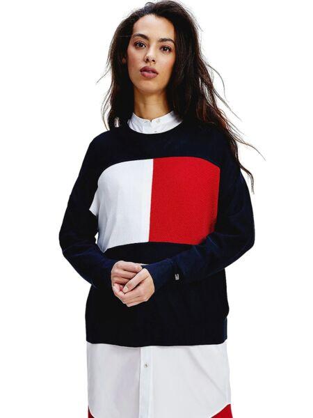 Ženski logo džemper - Tommy Hilfiger