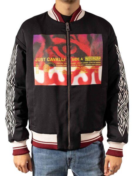 Just Cavalli - Muška jakna s aplikacijom