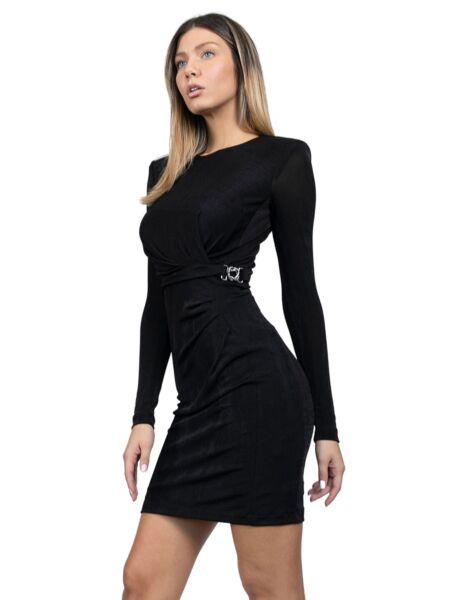 Just Cavalli - Crna mini haljina