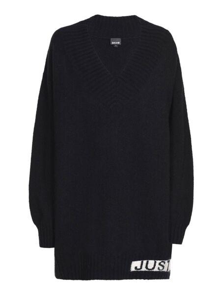 Just Cavalli - Mini džemper-haljina