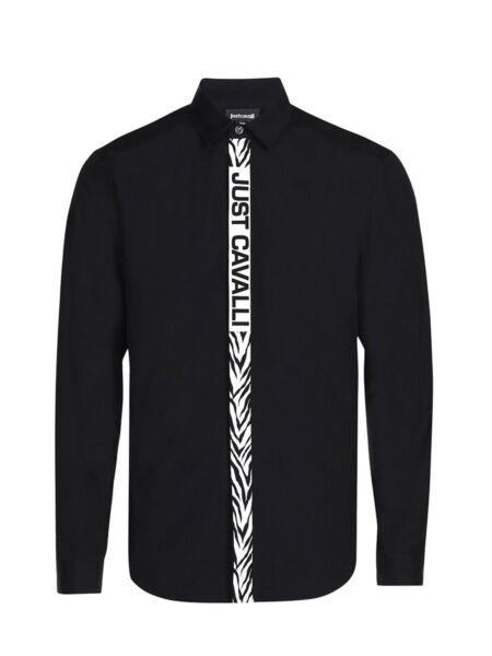 Just Cavalli - Crna muška košulja
