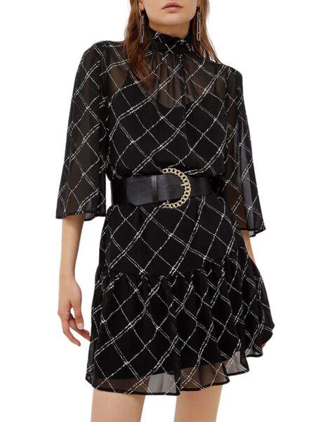 Liu Jo - Lepršava crna haljina