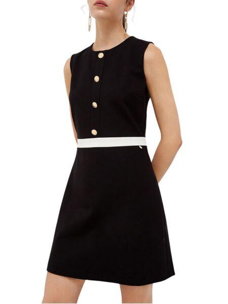 Liu Jo - Crna mini haljina