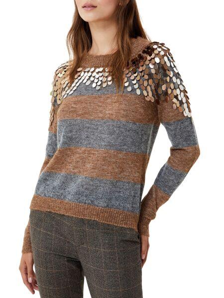 Prugasti ženski džemper - Liu Jo