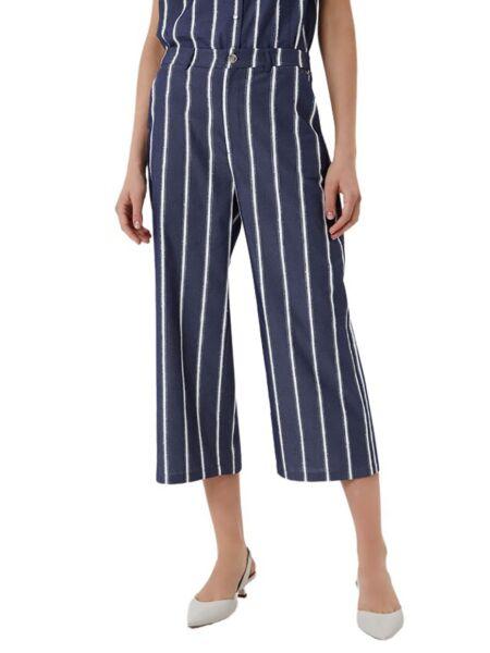 Prugaste ženske crop hlače - Liu Jo