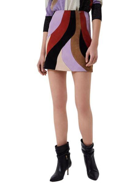 Kožna mini suknja - Liu Jo