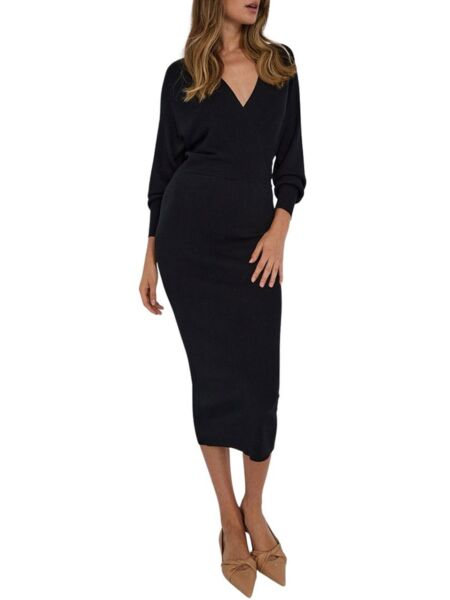 Liu Jo - Dugačka crna haljina