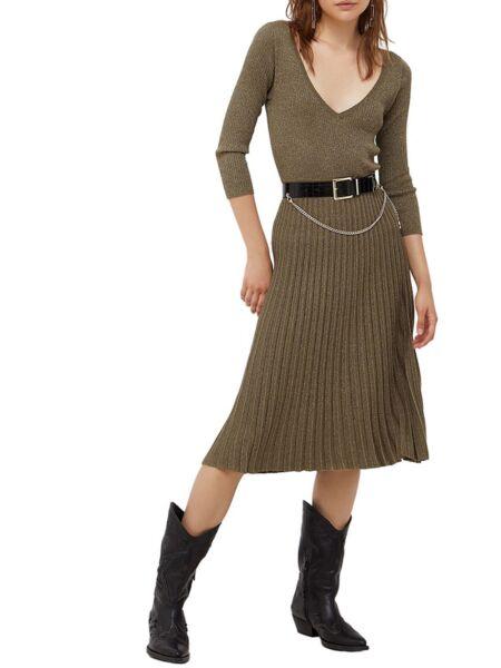 Liu Jo - Maslinasta midi haljina