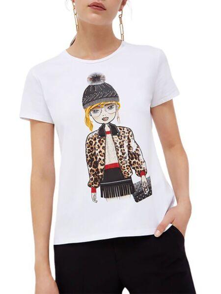 Liu Jo - Ženska majica s printom djevojke