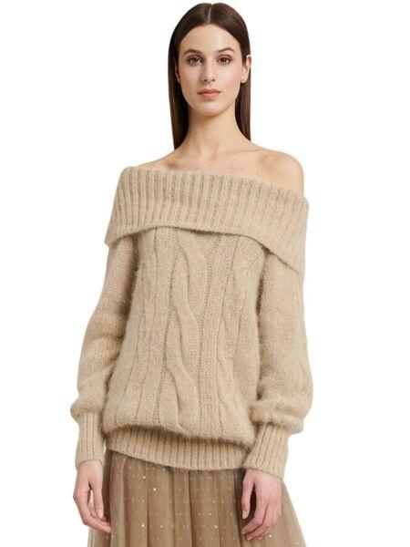 Luisa Spagnoli - Bež ženski džemper