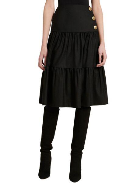 Luisa Spagnoli - Crna midi suknja