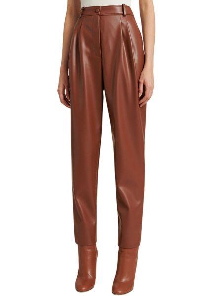 Luisa Spagnoli - Ženske pantalone od eko kože
