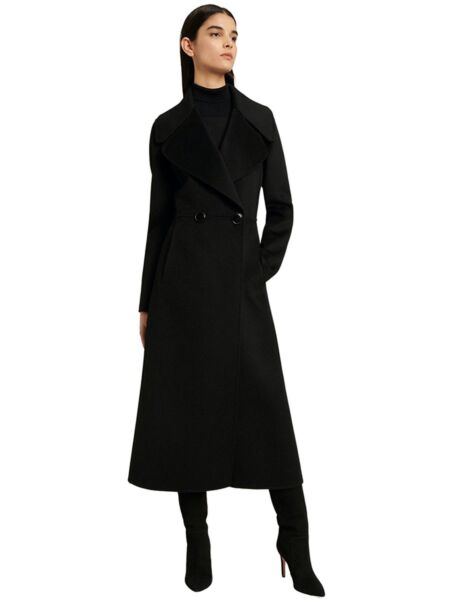 Luisa Spagnoli - Crni ženski kaput