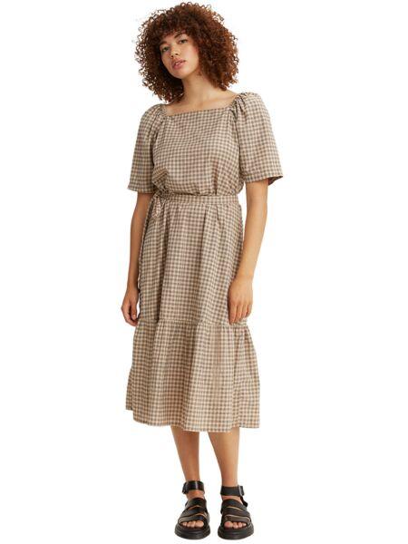 Midi haljina sa puf rukavima - Levis