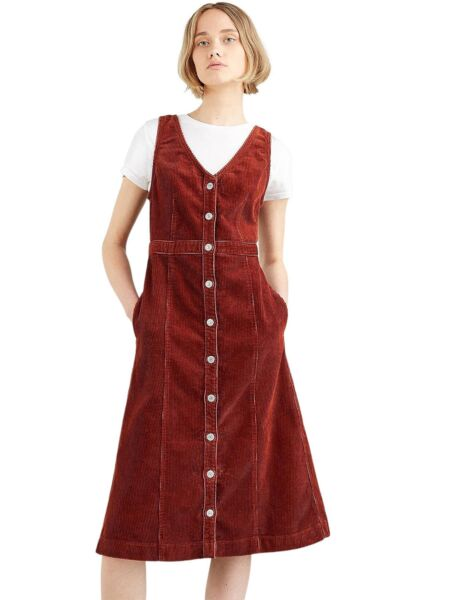 Levis - Braon midi haljina