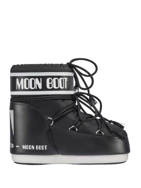Moon Boot - Crne ženske čizme