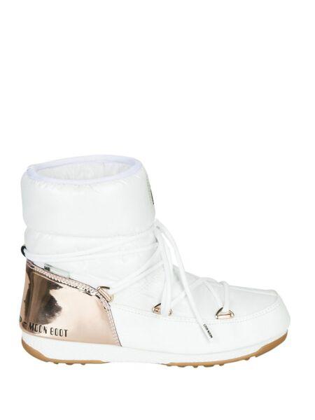 Moon Boot - Bele ženske čizme