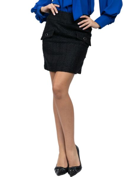 Mille - Crna mini suknja