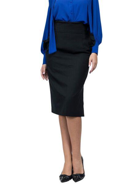 Mille - Poslovna crna suknja