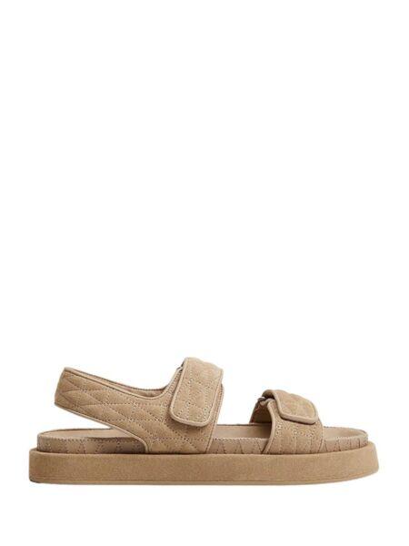 Mango - Prošivene ženske sandale