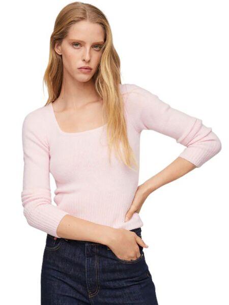 Mango - Bebi roze ženski džemper