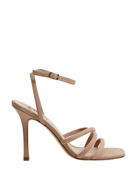 Mango - Kockaste ženske sandale