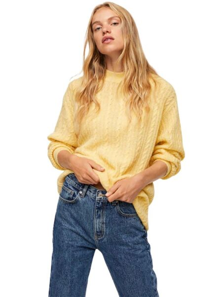 Mango - Žuti ženski džemper